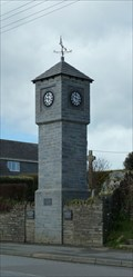 Image for Town Clock - High Street - Delabole, Cornwall