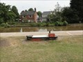 Image for Canal Boat Shaped Bench - Middlewich, UK