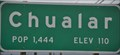 Image for Chualar, California ~ Elevation 110 Feet