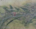 """Image for Huddersfield Narrow Canal """"You Are Here Map"""" – Milnsbridge, UK"""