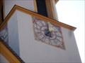 Image for Uhr Pfarrkirche Scharnitz, Tirol, Austria
