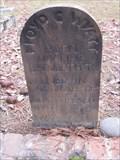 Image for Wyatt & Jacobs - Jacksonville Cemetery - Jacksonville, Oregon