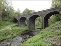 Image for Railway Viaduct Over River Sett - New Mills, UK