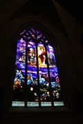 Image for Stained Glass Tribute 14-18 - Eglise Saint-Malo - Dinan, France