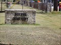 Image for Boerne Cemetery - Boerne, TX