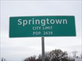 Image for Springtown, TX - Population 2639