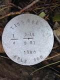 Image for T15S R9E S16 21 1/4 COR - Deschutes County, OR