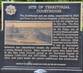 Image for Site of Territorial Courthouse