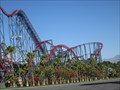 Image for Six Flags Magic Mountain spills plans for record-setting coaster