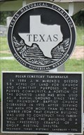 Image for Pecan Cemetery Tabernacle