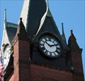 Image for Ware, MA town clock.