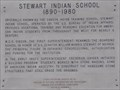 Image for Stewart Indian School 1890-1980