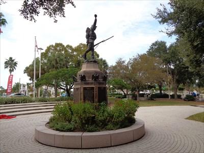 veritas vita visited Sarasota War Memorial