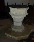 Image for Font, St Mary's, Hanley Castle, Worcestershire, England