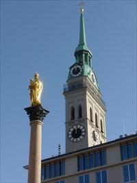 Mariensäule - Munich, Germany