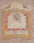 Image for Zarbula Sundial 1840 Saint Veran, Queyras, France