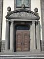 Image for Doorway at parish church St. Dionysius - Kruft, Rhineland-Palatinate, Germany