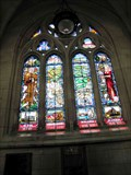 Image for St Paul- St Cecilia Stained Glass Window - St Paul's Anglican Cathedral - Dunedin, New Zealand