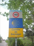Image for Camino sign, O Porriño - Spain