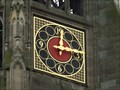 Image for Clock at the memorial church of the protestation in Speyer - RLP / Germany