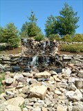 Image for National Shrine of Our Lady of the Snows Waterfall - Belleville, Illinois