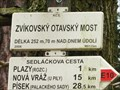 Image for Rozcestnik - Zvikovský Otavsky most, Czech Republic