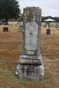 Image for Noel Ottis Bradford - Dobbs Valley Cemetery - Palo Pinto County, TX