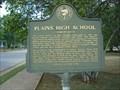 Image for Plains High School - Sumter Co., GA