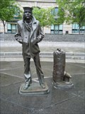 Image for The Lone Sailor Statue, Navy Memorial - Washington, DC
