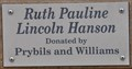 Image for Ruth Pauling Lincoln Hanson ~ Coal Valley, Illinois