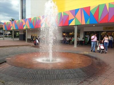Unicentro Mall Fountain, Medellin, Colombia
