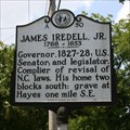 Image for James Iredell, Jr., Marker A-50