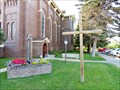 Image for St. Leo's Catholic Church Cross - Lewistown, MT