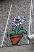 Image for Invader Street Art Mosaic -- Southbank Walking Path, London Borough of Lambeth -- UK