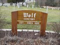 Image for Wolf Cemetery - Cottleville, Missouri