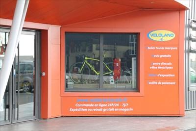 Une enseigne de vélo connue où nous irons faire un tour
