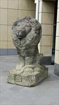 Image for Lion at the Kreissparkasse in Mendig, Rhineland-Palatinate, Germany