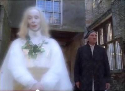A Christmas Carol 1999.Kirkby Hall Deene Northants Uk A Christmas Carol 1999