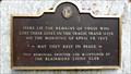 Image for Frank Slide Memorial Plaque - Frank, AB