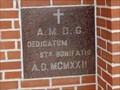 Image for MCMXXII - St. Boniface Church - Olfen, TX
