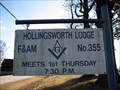 Image for Hollingsworth Lodge F&AM # 355