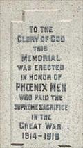 Image for Phoenix Cenotaph - Phoenix, BC