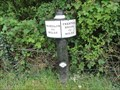 Image for Trent & Mersey Canal Milepost - Sandbach, UK