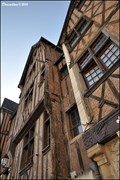 Image for Gothic burgher houses at Place Plumereau (Tours, France)