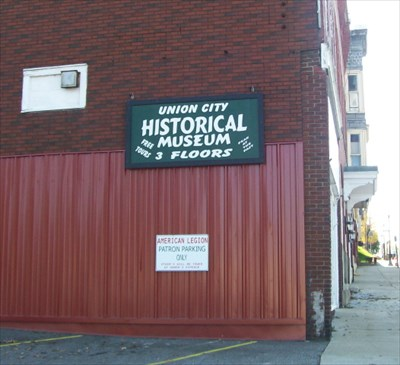 Union City Historical Society Museum - Sign