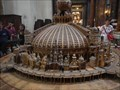 Image for Model of famous churches - St Ignatius of Loyola - Rome, Italy