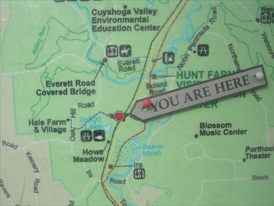 Indigo Lake Kiosk : Cuyahoga Valley National Park, OH - \'You Are ...