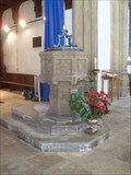 Image for Baptismal Font - Church of St.Nicholas, Church Street, Wells-next-the-Sea, Norfolk, NR23 1EQ