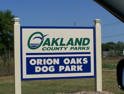 Orion Oaks Dog Park Michigan