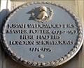 Image for Josiah Wedgwood - Greek Street, London, UK